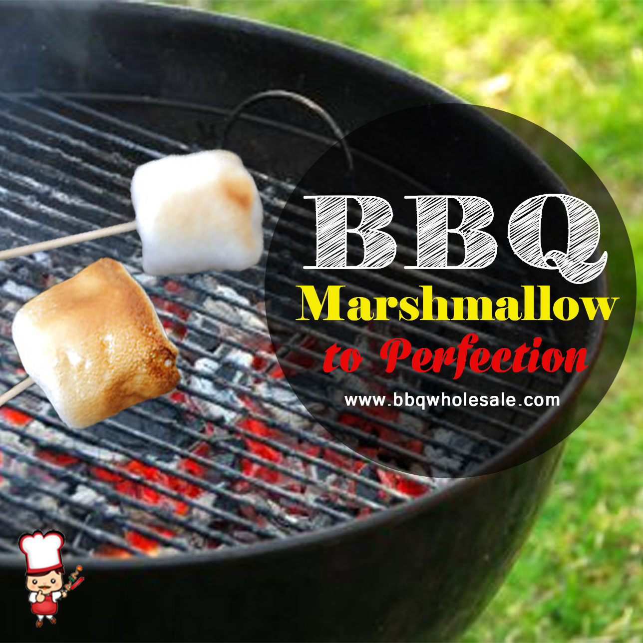 BBQ Marshmallow to Perfection by BBQ Wholesale Centre