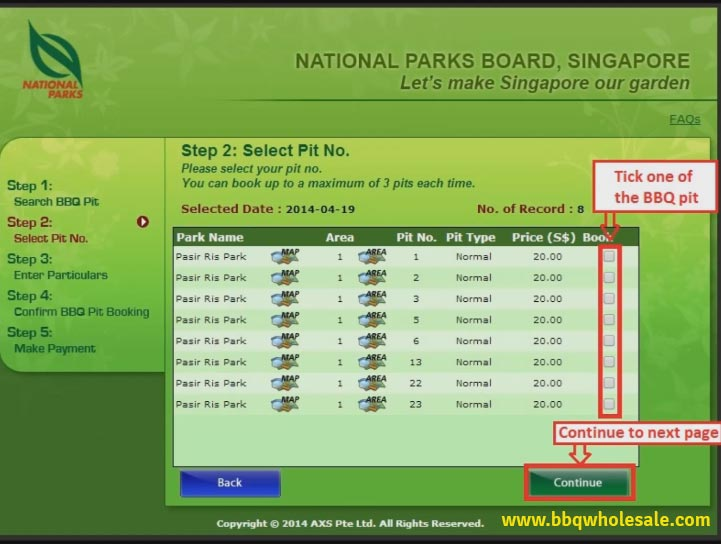 Book-BBQ-Pit-Online-Select-Pit-Number-Singapore