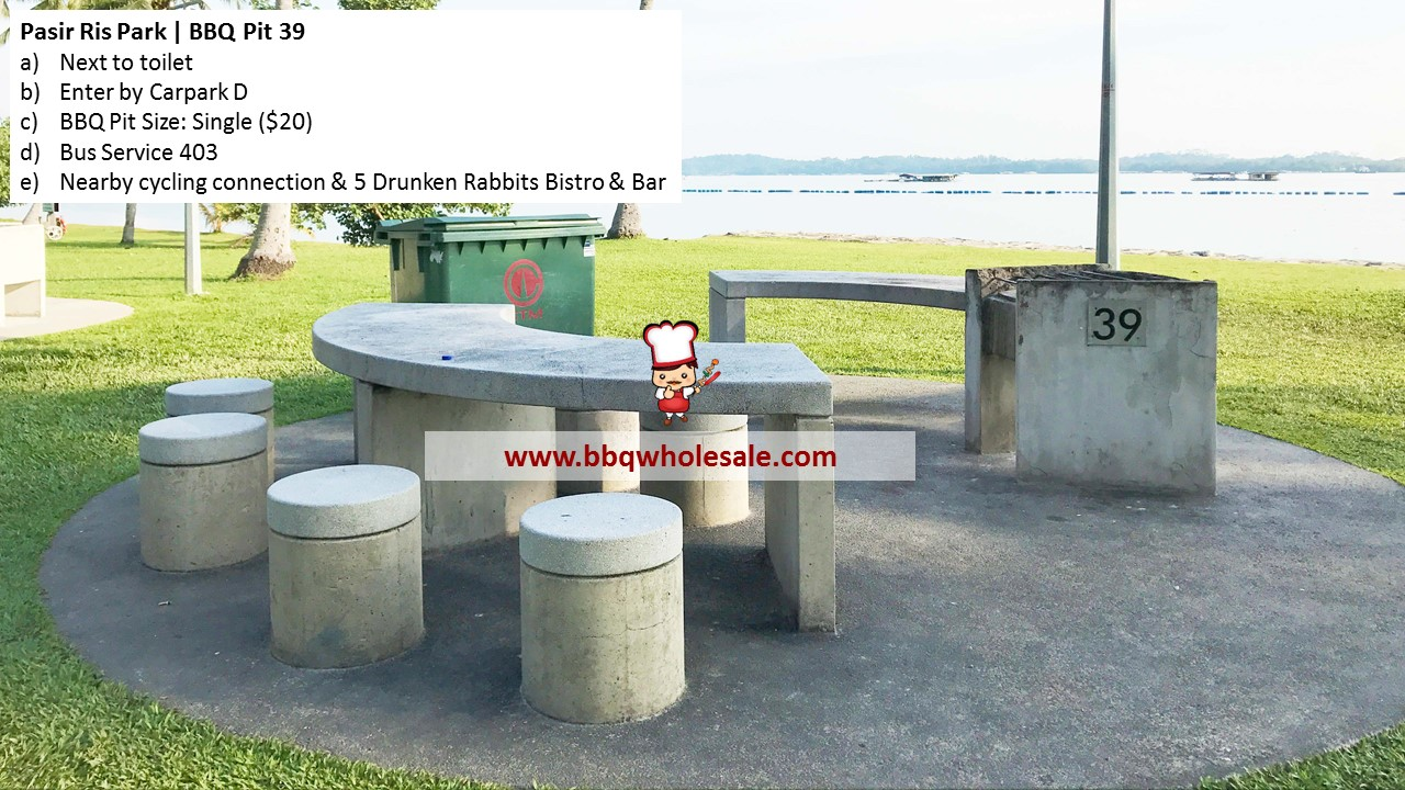 Pasir Ris Park BBQ Pit 39 BBQ Wholesale Frankel