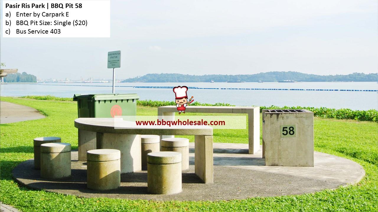 Pasir Ris Park BBQ Pit 58 BBQ Wholesale Frankel
