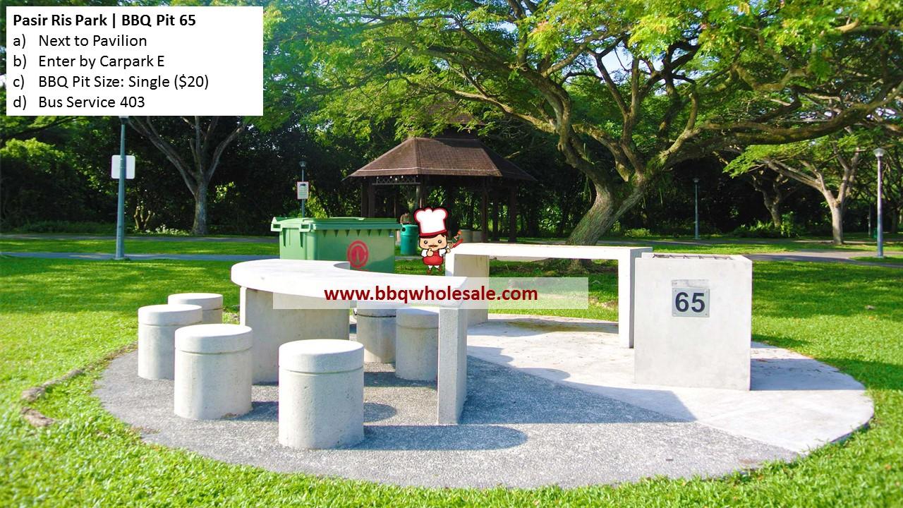 Pasir Ris Park BBQ Pit 65 BBQ Wholesale Frankel