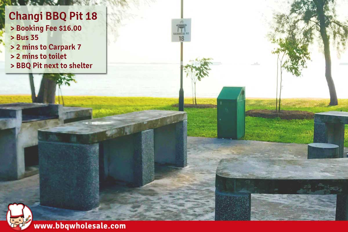 Changi-Beach-Park-Area-A-BBQ-Pit 18 BBQ-Wholesale-Frankel