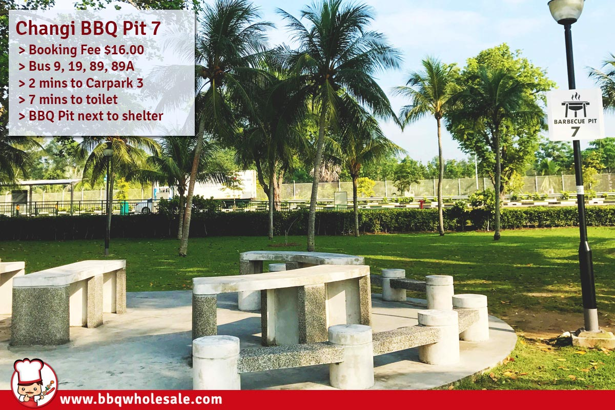 Changi-Beach-Park-Area-A-BBQ-Pit 7 BBQ-Wholesale-Frankel