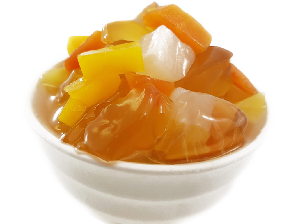 BBQ Wholesale Dessert Ice Jelly Fruit Cocktail
