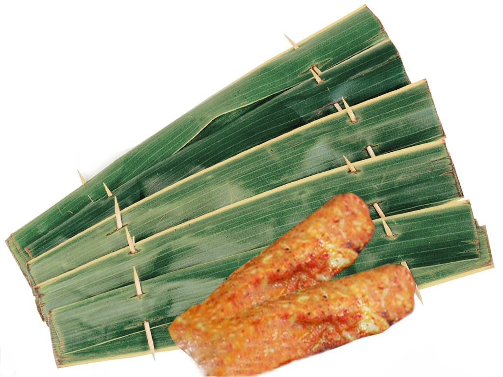 Banana Leaf Otah BBQ Singapore Wholesale