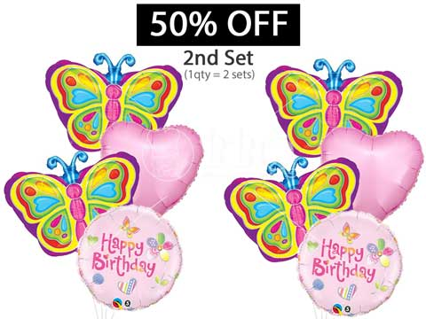 50-percent-discount-off-2nd-balloon-bouquet-Happy-...alloon-Bouquet-BBQ-Wholesale-Frankel-Singapore
