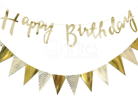 Gold-Birthday-Triangle-Bunting-BBQ-Wholesale-Singapore