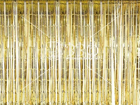Gold-Tinsel-Curtain-BBQ-Wholesale-Singapore