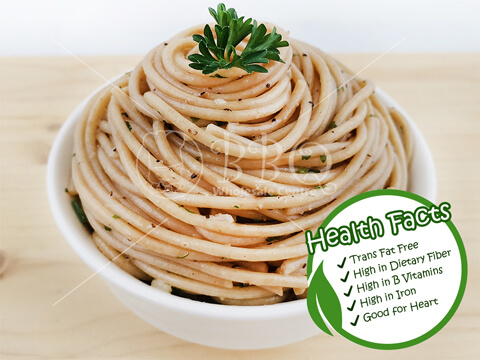 Halal-Aglio-Olio-Wholewheat-Spaghetti-BBQ-Wholesale-Frankel-Singapore