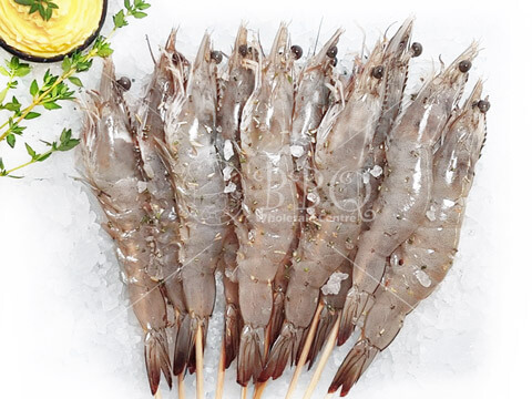 Halal-Butter-Herb-Prawn-Skewer-BBQ-Wholesale-Frankel-Singapore