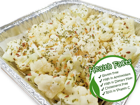 Halal-Cauliflower-with-Olive-Oil-BBQ-Wholesale-Frankel-Singapore