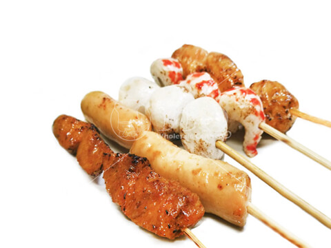 Halal-Raw-Vegetarian-Skewer-Set-BBQ-Wholesale-Singapore