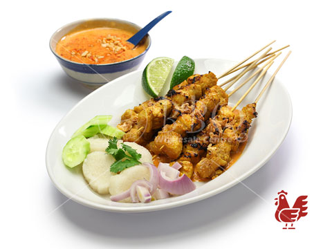 Halal-Satay-Chicken-Ketupat-Set-BBQ-Wholesale-Frankel-Singapore