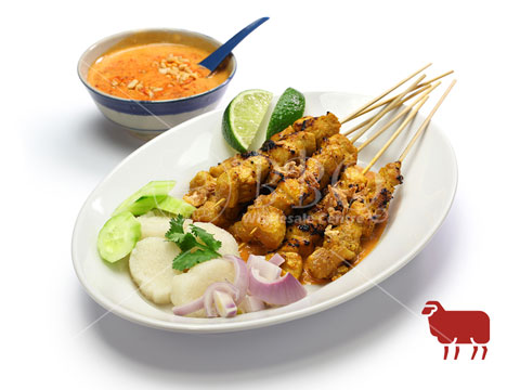 Halal-Satay-Mutton-Ketupat-Set-BBQ-Wholesale-Frankel-Singapore