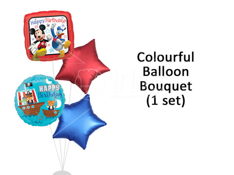 Happy-Birthday-Colourful-Balloon-Bouquet-BBQ-Wholesale-Frankel-Singapore