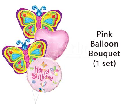 Happy-Birthday-Pink-Princess-Balloon-Bouquet-BBQ-Wholesale-Frankel-Singapore