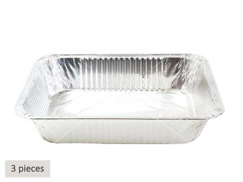 Singapore-BBQ-Wholesale-Frankel-Aluminium-Tray-A4-Set-Of-3-Barbecue-Accessories