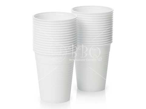 Singapore-BBQ-Wholesale-Frankel-White-Plastic-Cup-Cutlery